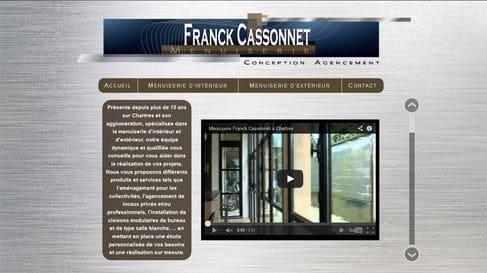 Référencement et création du site internet de Menuiserie Cassonnet