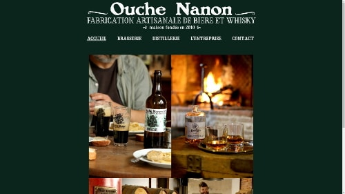 Website redesign Ouche Nanon