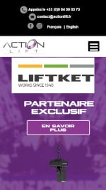 Action Lift mobile