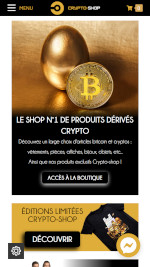 Cryptoshop mobile